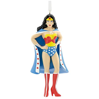 Amazon.com: Wonder Woman Christmas Tree Ornament: Home & Kitchen