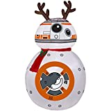 Airblown Inflatable-BB-8 w/Reindeer Ears and Scarf-MD Star Wars 4.5 ft tall by Gemmy Industries (1)