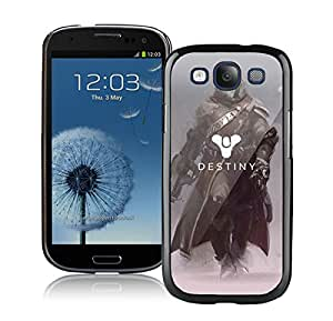 Popular And Durable Designed Case With Destiny Warlock Black For Samsung Galaxy S3 I9300 Phone Case