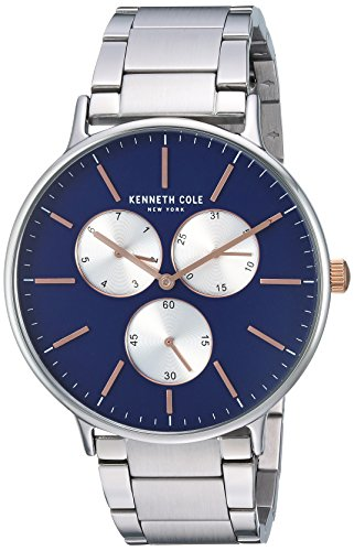 - Kenneth Cole New York Men's Sport' Quartz Stainless Steel Dress Watch, Color:Silver-Toned (Model: KC14946008)