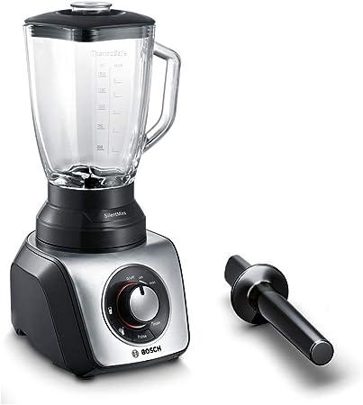 Bosch SilentMixx MMB65G5M - Batidora de vaso, 800W, 2.3 litros, color negro: Amazon.es: Hogar
