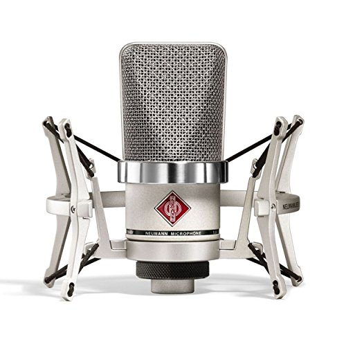 (Neumann TLM 102 Studio Set   Cardioid Large Diaphragm Condenser Microphone Set Nickel)