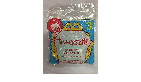 Amazon.com: Qiyun Tamagotchi Happy Meal Key Ring Toy 3 ...