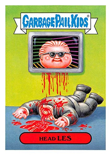 2018 Topps Garbage Pail Kids Series 1 We Hate the 80s Trading Cards 80s TV SHOWS and ADS - B NAMES #2B HEAD LES