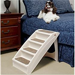 Solvit PupSTEP Plus XL Stairs, 28 x 18 x 25-Inch - Pup Step Plus Dog Steps