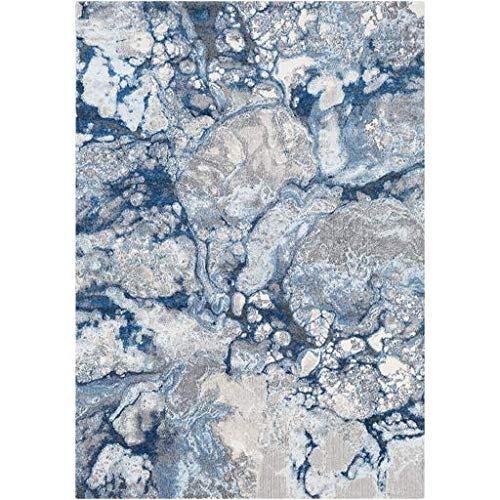 Lenore Abstract Marble Blue 5'2