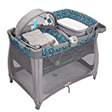 Evenflo Arena 4 in 1 Playard, Dash, Grey/Black, One Size