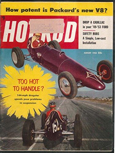 (HOT ROD Packard V8 Cadillac Engine in Ford Safari 8 1955)