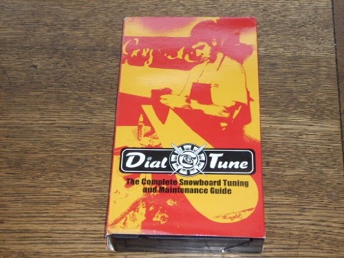 DIAL TUNE The Complete Snowboard Tuning and Maintenance Guide - (50 minute VHS Videocassette) Learn tuning basics: base prep, p-tex repair, edge sharpening, waxing, delamination repair, and off-season maintenance.