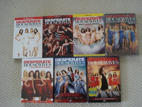 Desperate Housewives - Complete Seasons 1-7 (Desperate Housewives Complete Box Set 1 8)