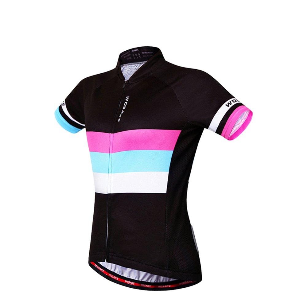 Women Cycling Jersey Summer Team Biking Short Sleeve Suit Girl Bike Shirts