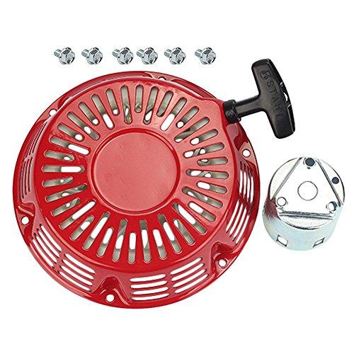 HIPA Recoil Starter + Cup for Chicago Electric Predator 60340 60349 69736 69671 68530 68525 66603 69672 13hp-16hp 420cc 5500 6500 7000 Watt Gas Generator by HIPA