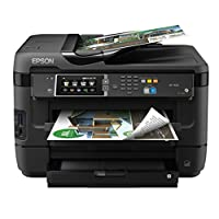 Impresora de inyección de tinta todo en uno inalámbrica a color WorkForce WF-7610 de EPSON (C11CC98201) con escáner y copiadora, reabastecimiento de Amazon habilitado