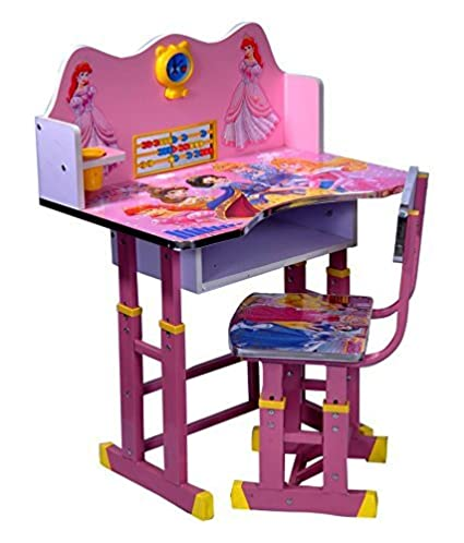 c1ebfa6f585 The Style Pro Barbie Kids Table And Chair Set - Computer Table Chair For  Kids