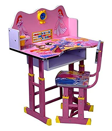 The Style Pro Barbie Kids Table And Chair Set - Computer Table Chair ...