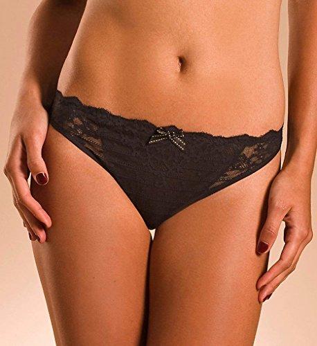 Chantelle Rive Gauche Bikini, XS, Black