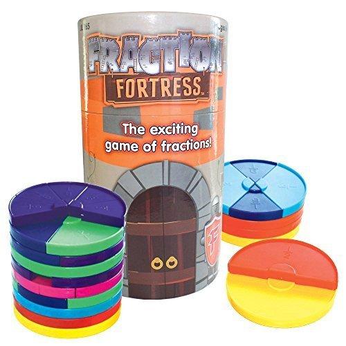 Fraction Fortress Board Board Board Games by Junior Learning 86dd98