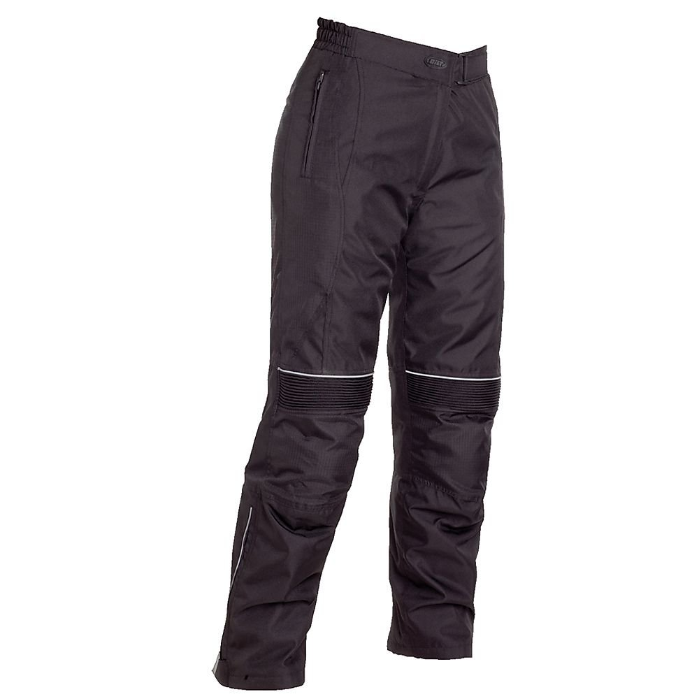 BILT Women's Tempest Waterproof Textile Pants - LG, Black