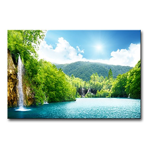 Plitvice Lakes National Park - Wall Art Decor Poster Painting On