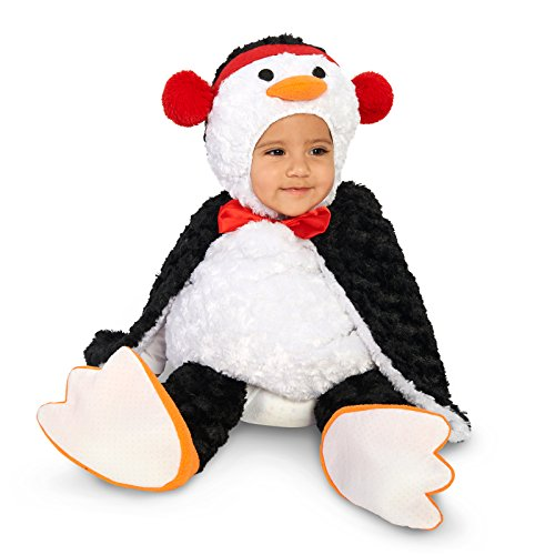 Cute Cuddly Penguin Infant Costume 6-12M
