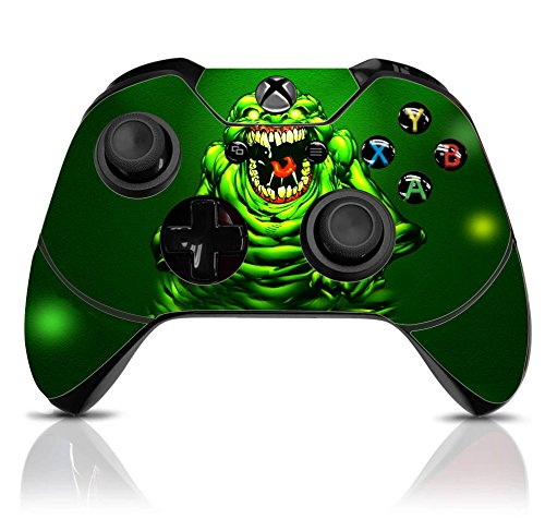 Slime Controller - (Slime Monster) Custom Xbox One Controller with Exclusive Design Vinyl Skin Decal Uniquely Hand Painted and Air-Brushed