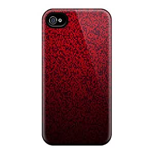 New Fashion Premium Cases Covers For Iphone 6 - Red Mosaic