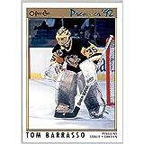 1991-92 OPC O-Pee-Chee Premier #103 Tom Barrasso PITTSBURGH PENGUINS Goaltender