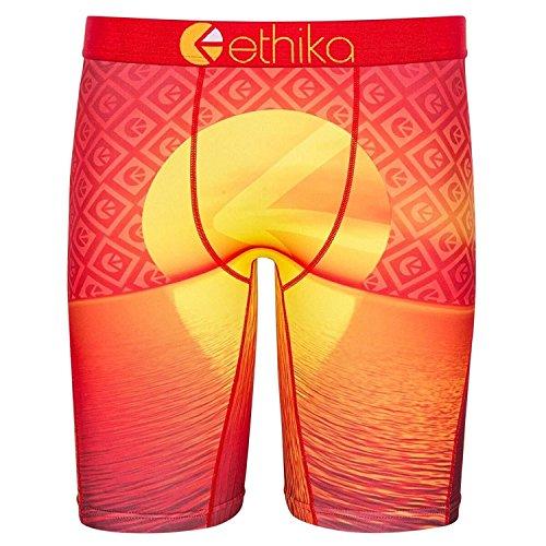 ethika  Men's Rising Familie Yellow/Orange Underwear