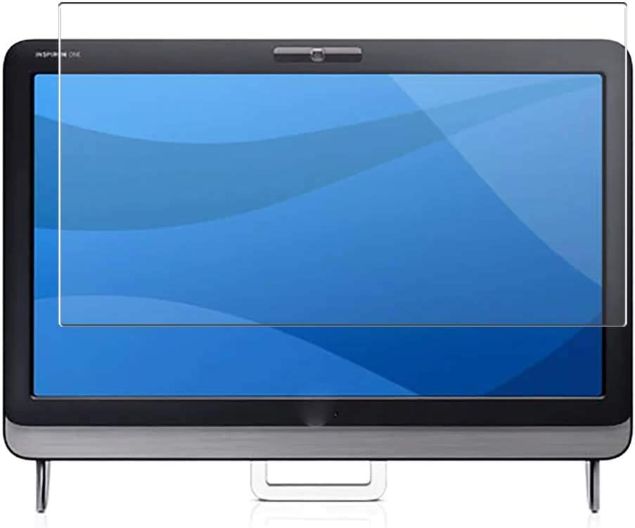 Puccy 2 Pack Anti Blue Light Screen Protector Film, compatible with Dell Inspiron One 2305 AIO All in One 23