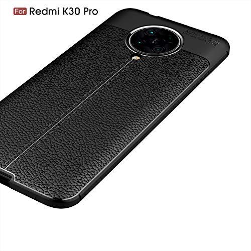 FanTing Case for Xiaomi Poco F2 Pro, Anti-Slip Ultra Thin Shock Absorption Anti Scratch Protective, Cover for Xiaomi Poco F2 Pro -Black
