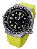 XXL 52mm - 1000m -Military diver watch Tauchmeister with sapphire glass and helium velve T0265Y