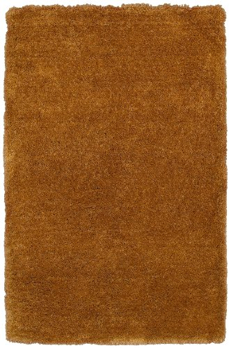 Rizzy Home Commons Collection CO8421 Hand-Tufted Shag Area Rug Camel 8' x 10'