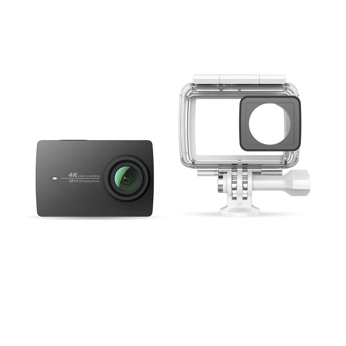 YI 4K Action Camera with Waterproof Case 32G Memory Card Included Night Black by YI