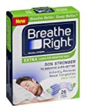 Breathe Right Extra Clear Sleep Strips