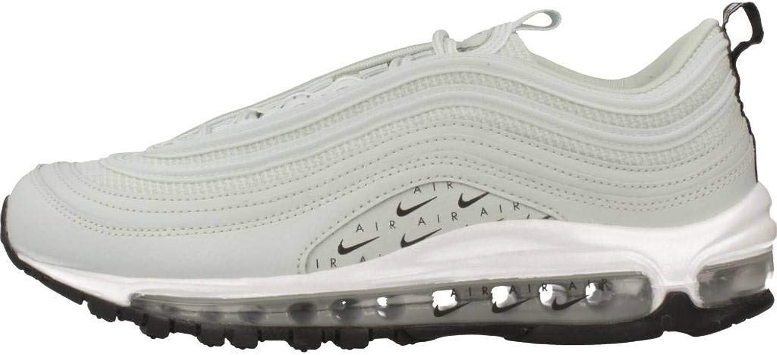 Nike W Air MAX 97 LX, Zapatillas de Deporte Interior para Mujer, Multicolor (Light Silver/Light Silver/Black/White 002), 36 2/3 EU: Amazon.es: Zapatos y complementos