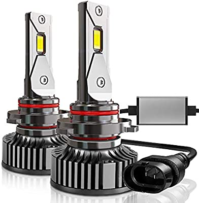 A-Partrix H8//H9//H11 LED Headlight Bulb 4 light 6000K 100W 12000 Lumens Xenon White Extremely Bright All-in-One Conversion Kit-2 Packs