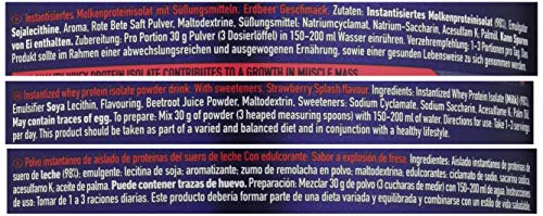 Amazon.com: Multipower 725 g Strawberry 100 Percent Whey Isolate Protein Powder by Multipower: Health & Personal Care