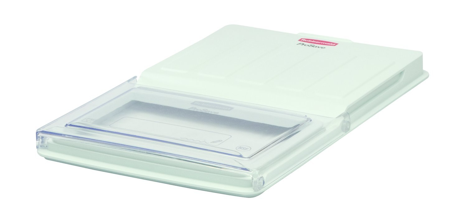 Rubbermaid Commercial Flip Top Food Storage Container Lid, FG331100CLR