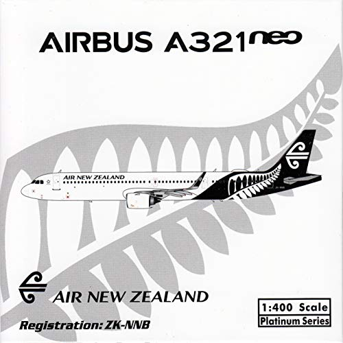 (Phoenix Model PHX11502 1:400 Air New Zealand Airbus A321neo Reg #ZK-NNB (pre-Painted/pre-Built))