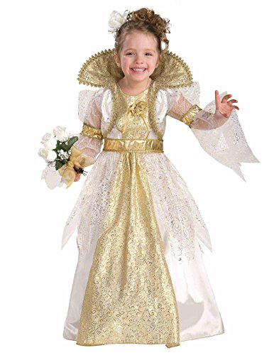 Designers Costumes Custom (Forum Novelties Little Designer Collection Royal Bride Child Costume,)