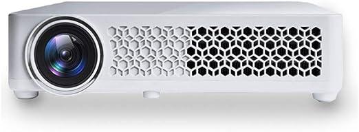 ZYWX Mini 3D HD LED 4500 Lúmenes Proyector Inteligente para Cine ...