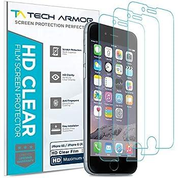 cheaper e1240 da07b Amazon.com: Tech Armor Matte Anti-Glare/Anti-Fingerprint Film Screen ...