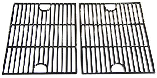 VICOOL 17'' Porcelain Coated Cast Iron Cooking Grid Grate for Nexgrill 720-0830H, 720-0670A, 720-0670C, Kenmore, Uniflame, Kmart, Uberhaus Gas Grill Models, HyG119B