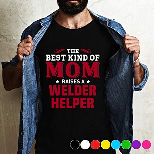 (tenis the best kind of Mom raised a Welder Helper T Shirt Long Sleeve Sweatshirt Hoodie For Best Time )