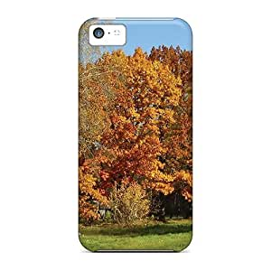 Rugged Skin Case Cover For Iphone 5c- Eco-friendly Packaging(september)