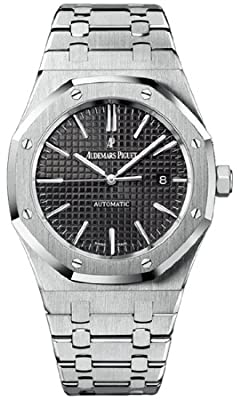 Audemars Piguet Royal Oak Black Dial Stainless Steel Mens Watch 15400STOO1220ST01