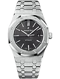 Royal Oak Black Dial Stainless Steel Mens Watch 15400STOO1220ST01