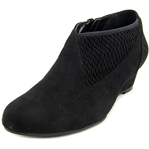 8b6a3750b2 lovely Impo Genius Women Round Toe Synthetic Black Bootie. women · Boots