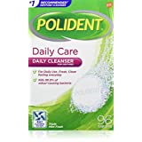 Polident Daily Care Denture Cleaner Triple Mint Fresh 96 Tabs