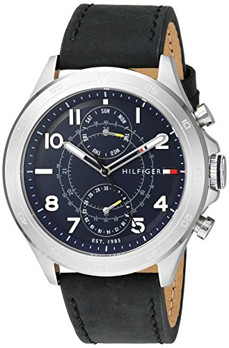 Tommy Hilfiger Quartz Stainless Leather